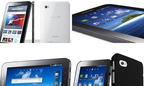 Réparations tablette tactile Samsung Galaxy Tab 1 - 7'' - P1000 à Rennes Saint-Gregoire