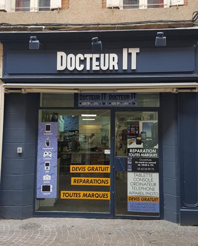 Docteur IT - Réparation dépannage Téléphone  sur Albi 81