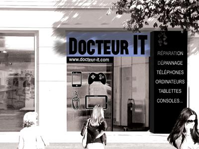 Docteur IT - Réparation et dépannage Téléphone Applesur Saint-Malo 35