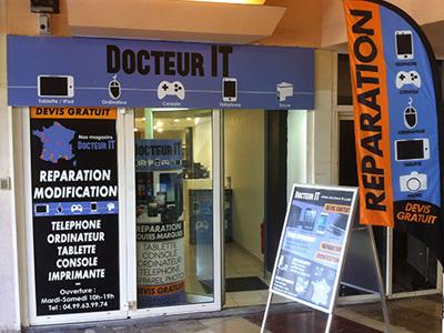 Docteur IT - Réparation et dépannage Téléphone Applesur Montpellier 34