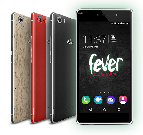 Réparations smartphone Wiko Fever 4G à Lille-Leers