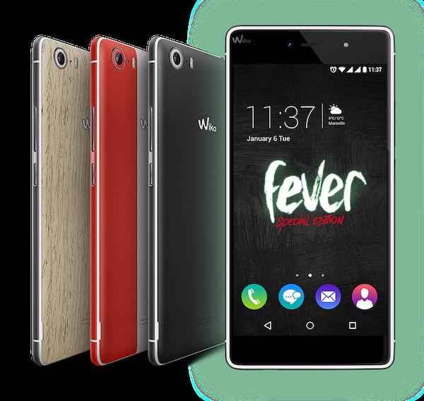 Réparations smartphone Wiko Fever 4G à Aix-en-Provence