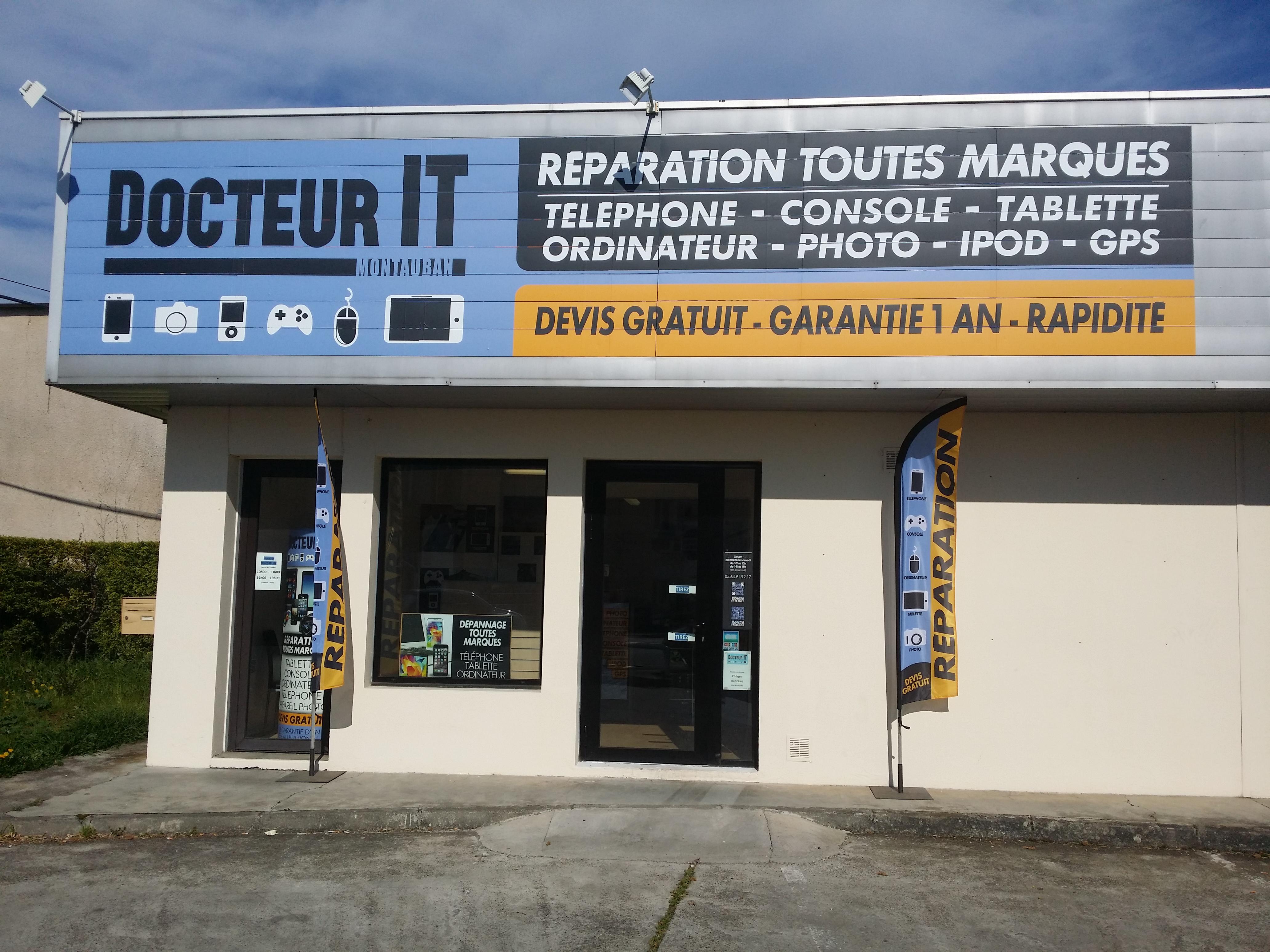 Docteur IT - Réparation et dépannage Téléphone Wikosur Montauban 82